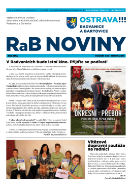 srpeN 2013 - Radvanice a Bartovice
