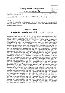 oznámení o podaném odvolání, výzva k vyjádření.pdf