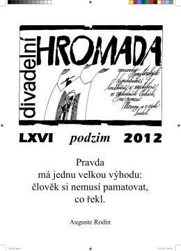 Divadelní hromada (podzim 2012)