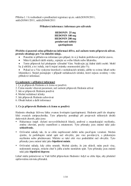 PIL_Hedonin 25+100+200 mg 265638-11, 265661-11