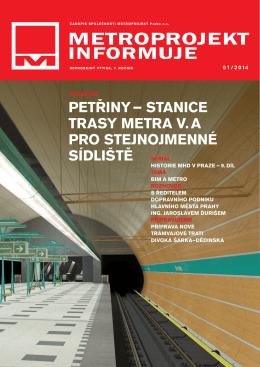 č. 01/2014 - Metroprojekt as