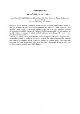 všechny anotace ke stažení, pdf 149kB - Ceramics