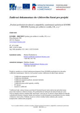 zadávací dokumentace - opravená_rev_9_3_11_LC - Knorr
