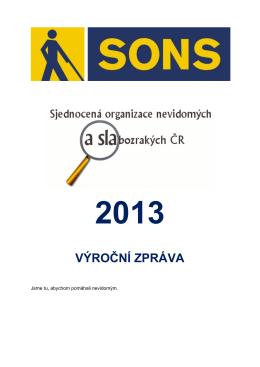 Výroční zpráva 2013 (pdf; 1,6 MB)