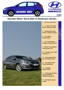 Hyundai i40cw: Nová štika ve fleetovém rybníku