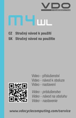 Video - příslušenství Video - návod k obsluze Video - E-shop