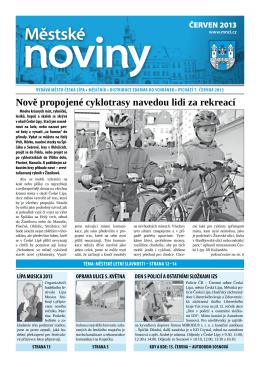 6/2013 Červen - Městské noviny Česká Lípa