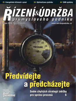 Stáhněte si č. 11 v PDF - Česká společnost pro údržbu