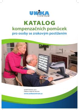 Katalog kompenzačních pomůcek pro osoby se zrakovým postižením