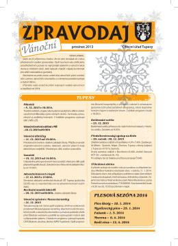Zpravodaj – Vánoce 2013 – ve formátu pdf