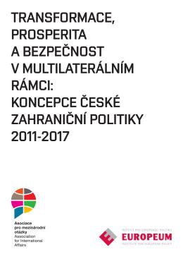 koncepce české zahraniční politiky 2011-2017