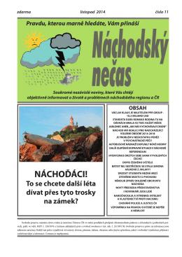 listopad - vstup - Náchodský nečas