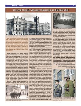 Kasárna Tomáše Garrigue Masaryka na Jíčinské ulici, In.