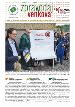 7/ 2014 (196) - SPOV - Spolek pro obnovu venkova