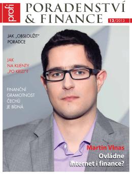 poradenství & finance poradenství & finance 12/2013