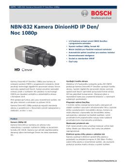 NBN‑832 Kamera DinionHD IP Den/Noc 1080p