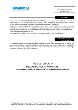 Technický list (PDF 106 kB)