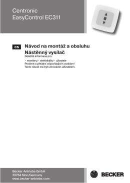 Centronic EasyControl EC311.pdf
