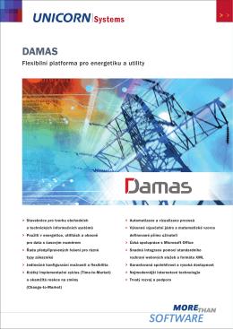 Flexibilní platforma pro energetiku a utility - Damas