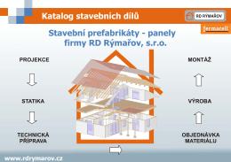 Katalog stavebních dílů