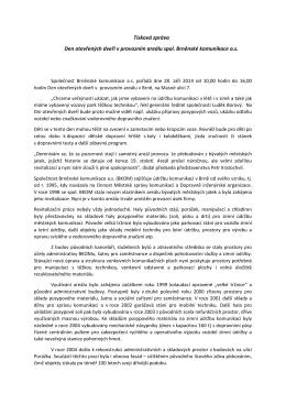 Zobrazit přílohu - Brněnské komunikace as