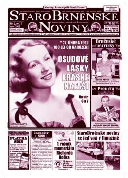 3 2 - StaroBrněnské noviny