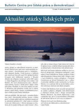 ( 3.37 MB ) - bulletin-v-2.pdf - Centrum pro lidská práva a