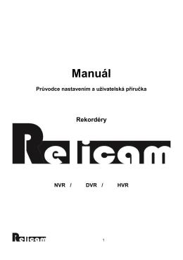 Manuál - relicam