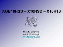 AOB16HSD – X16HSD – X16HT3