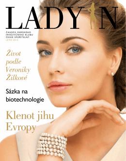 Jednadvacáté číslo časopisu Dámského investičního klubu LADY IN