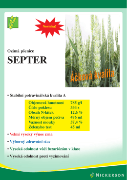 SEPTER - Limagrain Europe