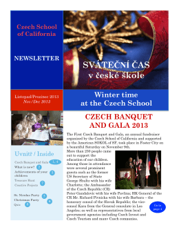 [PDF] - Czech School of California