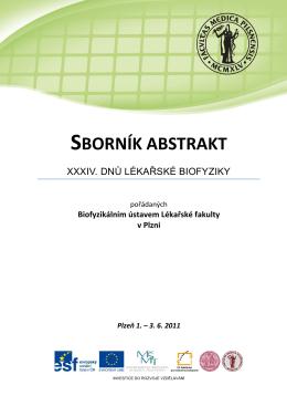 sborník abstrakt - Výukový portál Lékařské fakulty v Plzni