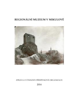 2014 - Regionální muzeum Mikulov