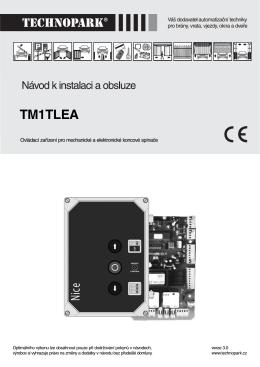 TM1TLEA - TECHNOPARK.CZ
