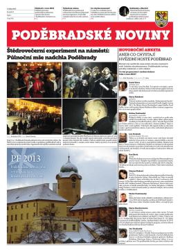 PF 2013 - Poděbradské noviny