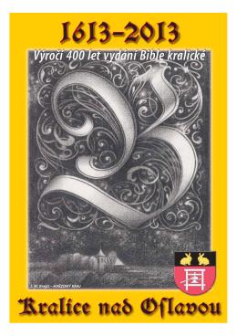Ke stažení ZDE. - Bible kralická