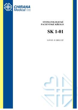 Návod k použití Křeslo SK1