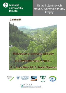 Rekreace a ochrana přírody – s člověkem ruku v ruce