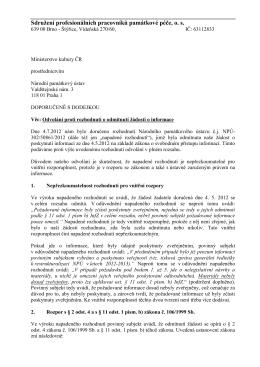 odvolání SPPPP č.2 - Sdružení profesionálních pracovníků
