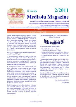 2/2011 Media4u Magazine