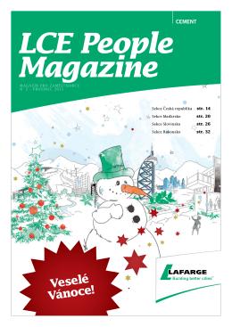 Veselé Vánoce! LCE People Magazine