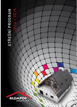 Klempos Katalog 2014.pdf - Střechy, střešní krytiny, střešní okna