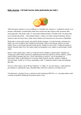 Popis ovoce kaki (PDF