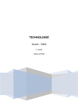 Souhrnná technologie 1. ročník ve formátu *.PDF