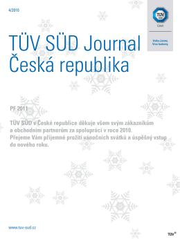 PF 2011 TÜV SÜD v České republice děkuje všem svým
