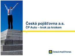 Nadpis prezentace - Česká pojišťovna, as