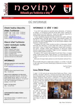 1/ 2013 - Tuchlovice