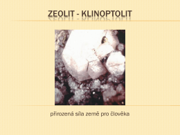 Zeolit – Klinoptolit