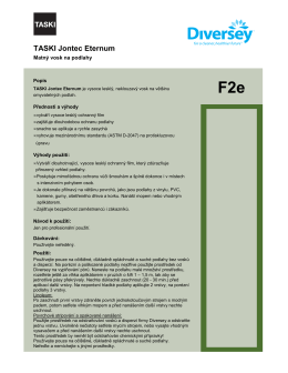 Technický list Taski Jontec Eternum.pdf - Ecoclean